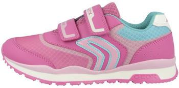 Geox Kinder-Sneakers rosa/blau (J928CA01454C8230)