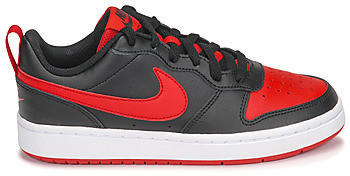 Nike Kids Trainers Court Borough Low 2 black/university red/white