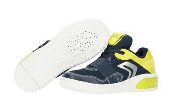 Geox Kinder-Halbschuhe blau/gelb (J927QB 01454C0749)
