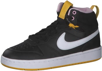 Nike Court Borough Mid schwarz/weiß/rosa (BQ5440-003)