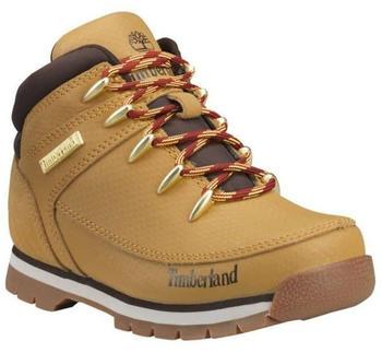 Timberland Kinderstiefel Euro Sprint Mid Hiker TecTuff braun/gelb (TB0A22AJ)