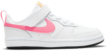 Nike Court Borough Low 2 Kids white/light zitron/black/sunset pulse