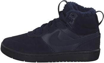 Nike Court Borough Mid 2 Boot PS (CQ4026) blackened blue/blackened blue