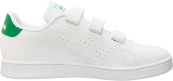 Adidas Kids Trainers white/green/grey two (EF0223)