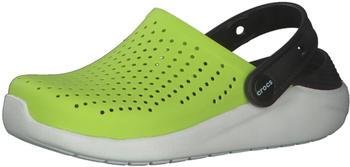 crocs-kids-clogs-literide-lime-punch-black-205964-3t3