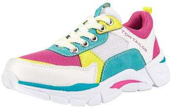 Tom Tailor Kids Trainers white/pink/yellow/turquoise (8073902)