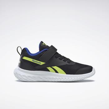 reebok-rush-runner-alt-black-yellow-flare-court-blue