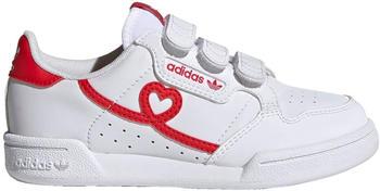Adidas Continental 80 CF Kids cloud white/vivid red/cloud white