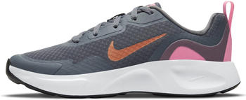 Nike WearAllDay Kids smoke grey/metallic copper/pink glow