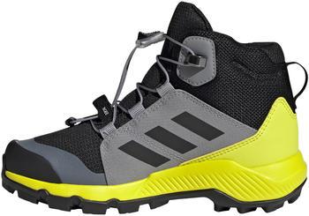 Adidas TERREX MID GTX Hiking Shoes Kids black/yellow/grey