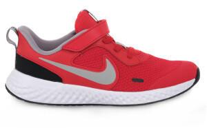 Nike Revolution 5 Kids (BQ5672) university red/black/white/light smoke grey