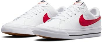 Nike Court Legacy Kids white/black/university red