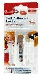 Clippasafe Drawer Locks - Self Adhesive (2 pack)