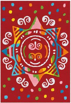 Arte Espina Spirit Glowy (110 x 160 cm) Mandala Red
