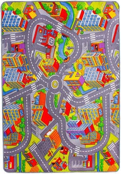 Andiamo Straße (200 x 300 cm) mehrfarbig