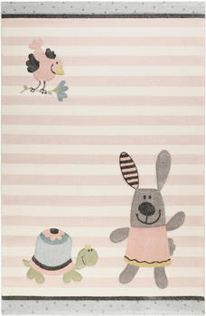 sigikid-happy-friends-80x150cm-rosa