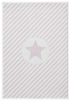 Livone Happy Rugs Decostar rosa/weiss (120 x 180 cm)