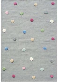 Livone Happy Rugs Colordots grau/multi (100 x 160 cm)
