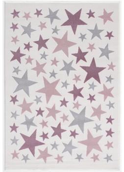 Livone Happy Rugs Stella creme/silbergrau/rosa (120 x 180 cm)