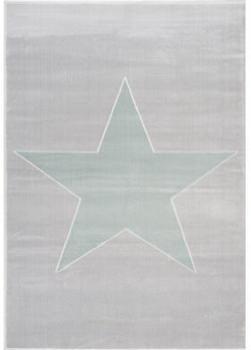 Livone Happy Rugs Shootingstar silbergrau/mint (120 x 180 cm)