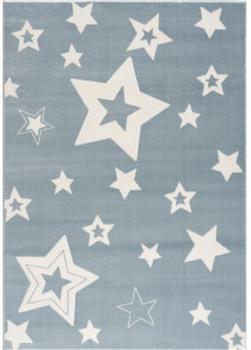 Livone Happy Rugs Galaxy blau/weiss (120 x 180 cm)