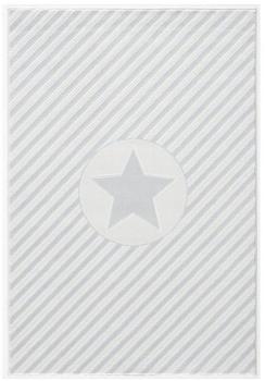 Livone Happy Rugs Decostar silbergrau/weiss (120 x 180 cm)