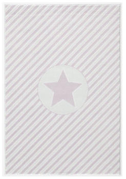 Livone Happy Rugs Decostar rosa/weiss (160 x 230 cm)