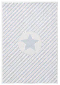 Livone Happy Rugs Decostar blau/weiss (120 x 180 cm)