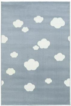 Livone Happy Rugs Sky Cloud (120x180 cm) blau/weiss