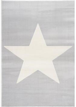 Livone Happy Rugs Shootingstar grau/weiss (120 x 180 cm)