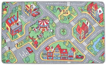 vidaXL Play Mat City Road 100 x 165 cm