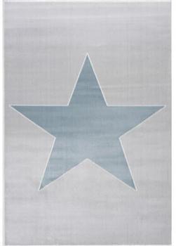 Livone Happy Rugs Shootingstar (160 x 230 cm) silbergrau/blau