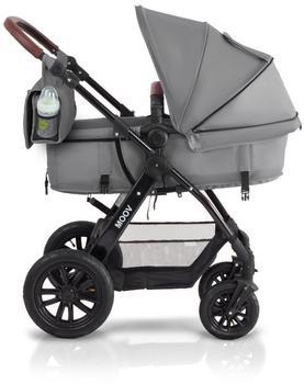 Kinderkraft Moov 3 in 1 grau inkl. Babyschale