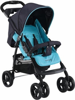 Knorr-Baby V-Easy Fold Happy Color Blau