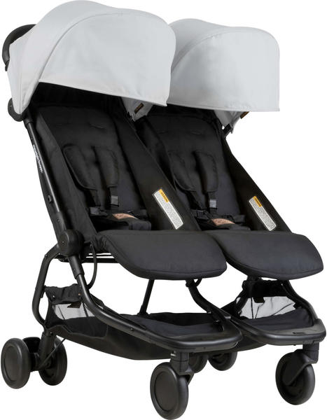 Mountain Buggy Nano Duo silver 2018
