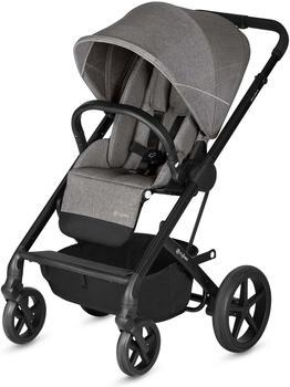 Cybex Kombikinderwagen Balios S mit Kinderwagenaufsatz Cot S, Ab Geburt bis 17 kg (ca. 4 Jahre), Kollektion 2018, Manhattan Grey