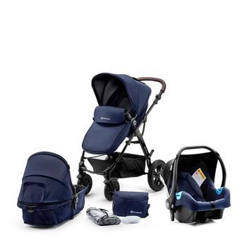 Kinderkraft Kombi Kinderwagen Moov, 3in1, dunkelblau