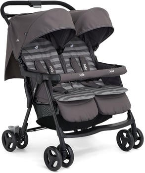 joie Aire Twin inkl. RV Dark Pewter