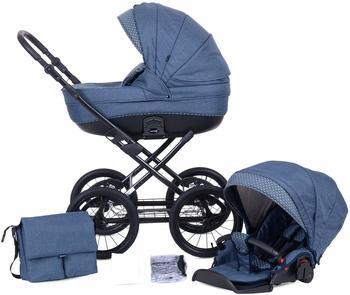 Knorr-Baby Kreta Blau mit Punkten