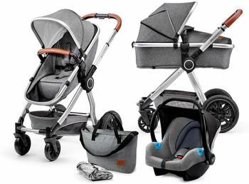 Kinderkraft Veo 3in1 Grey