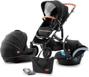 kinderkraft-kinderwagen-3-in-1-black