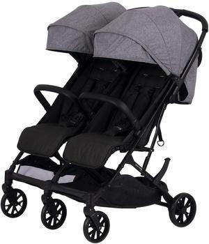 Knorr-Baby Twin Easy Fold grau