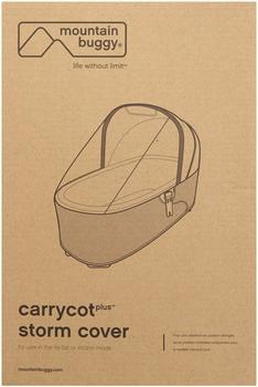 Mountain Buggy Regenschutz für Carrycot Plus Tragetasche Duet, Swift und Mini