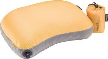 Cocoon Air-Core Down Travel Pillow sunflower/grey