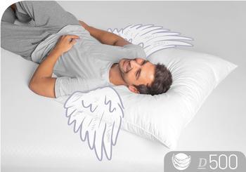 Schlafstil Daunenkissen D500 80x80cm