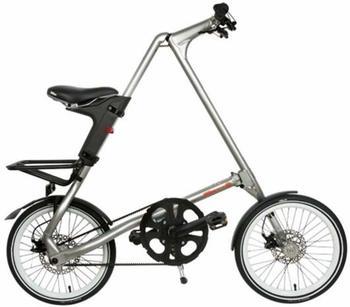 STRIDA Falt Fahrrad Strida EVO 18 Zoll 3S in Farbe Silver brush