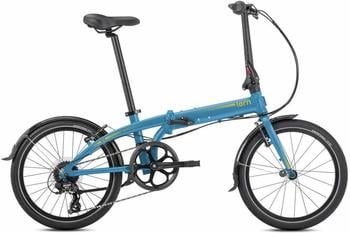 Tern Link C8 (2019) blue - no Light or Luggage Rack