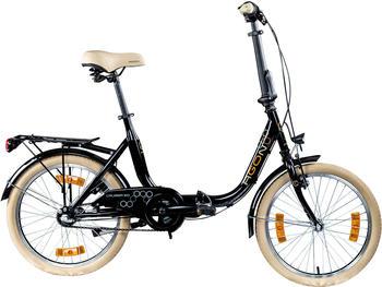 "Agon Folding Bicycle 20"" (black)"