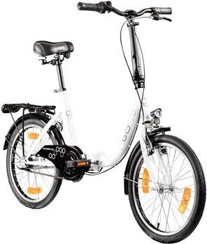 "Agon Folding Bicycle 20"" (white)"