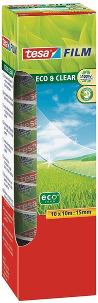 Tesa tesafilm Eco & Clear 10m x 15mm, 10 Stk.